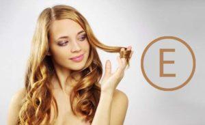 Девушка с красивыми волосами =