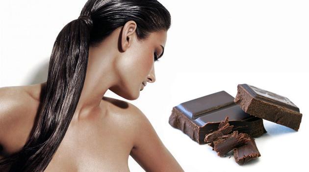 Шоколад и девушка