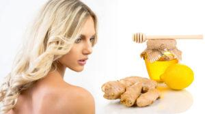 Девушка имбирь и мед