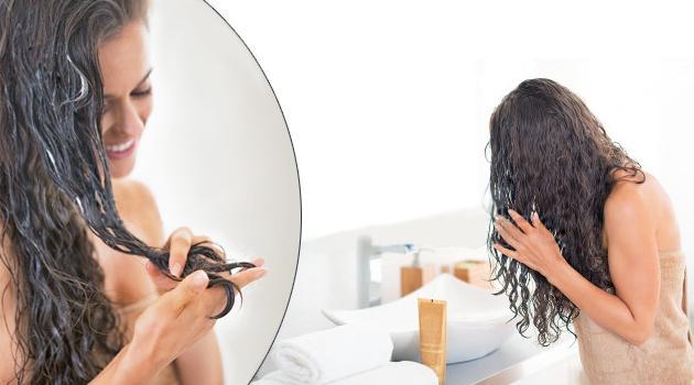Маска для кончиков волос в домашних условиях  358