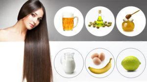 Продукты для блеска волос