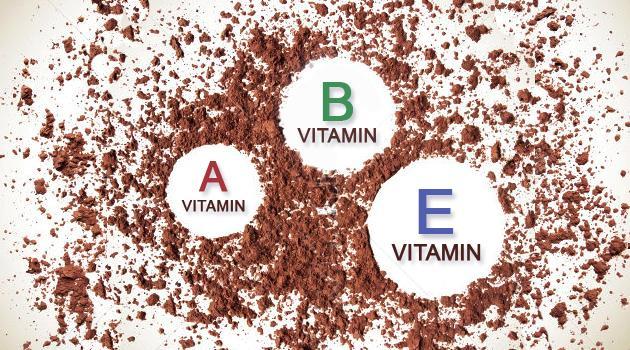 Витамины в какао