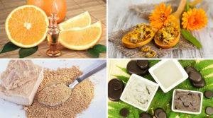 Продукты для лечения жирных волос