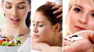 Медецинские способы для густоты волос