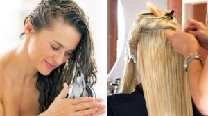 Наращивание и лечение волос