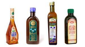 Виды льняного масла
