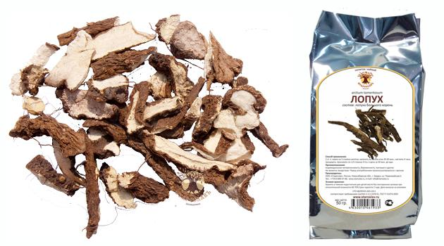 рецепт маски для волос из корня лопуха