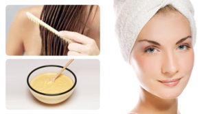 Применение восстанавливающих масок для волос