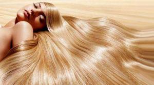 Золотистые волосы