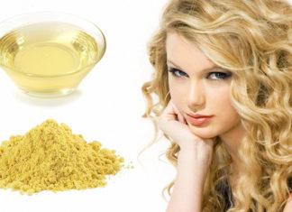 Горчица и касторовое масло для волос