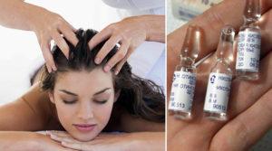 Правила использования витамин для волос