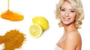 Осветляющие маски с медом лимоном и корецей