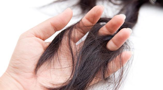 Истонченные волосы