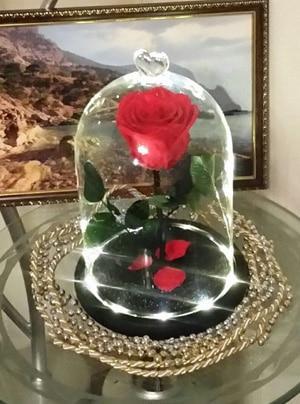 Роза с подсветкой
