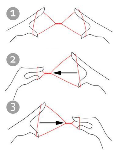 Удаление волос нитью инструкция