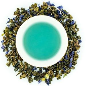 Голубой пурпурный чай