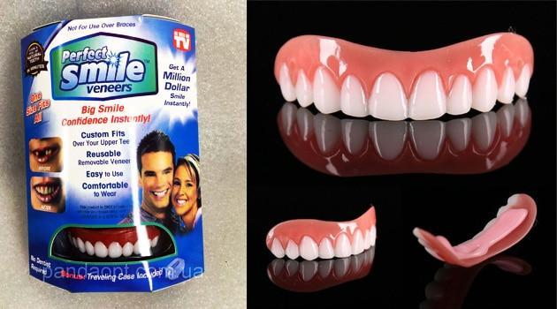 перфект смайл виниры на нижние зубы