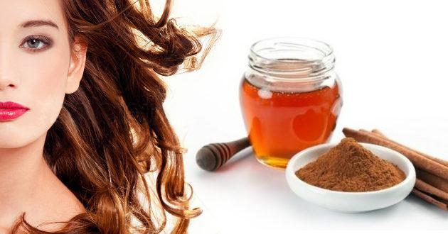 Мед и корица для волос