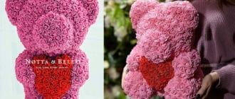 Купить мишку из роз